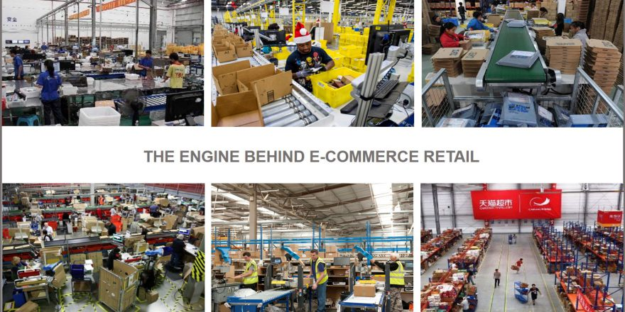 engine behind e-commerce retail